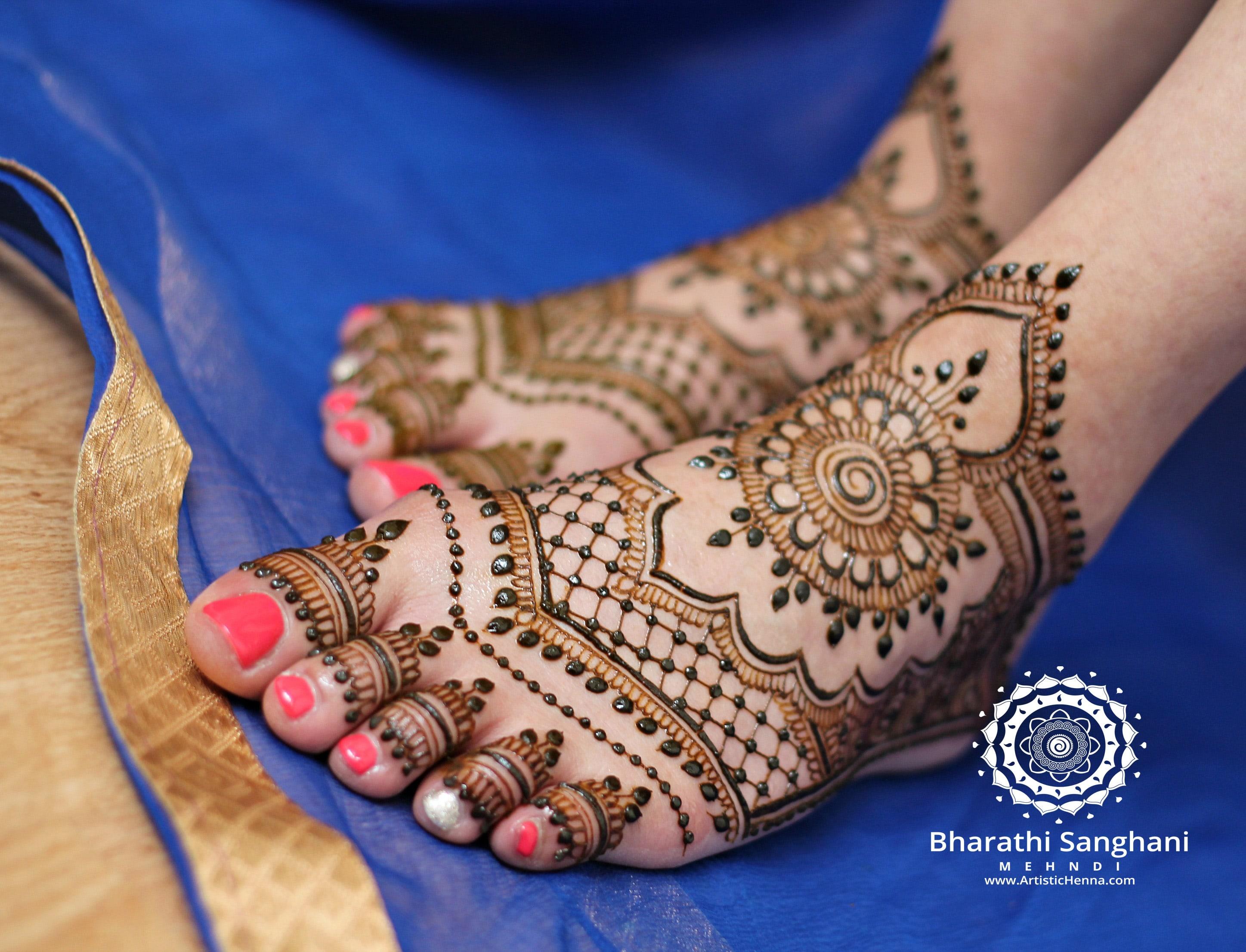 Mehndi Ankle Images : Bridal henna artistic artist derby east midlands